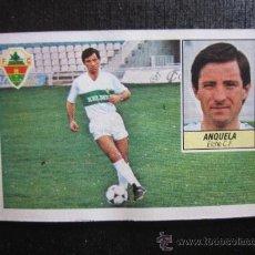 Cromos de Fútbol: ED. ESTE 1984 1985 LIGA 84 85 - ELCHE C.F. - ANQUELA - DESPEGADO, FOTO ADICIONAL. Lote 33171284