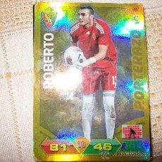 Cromos de Fútbol: ADRENALYN XL - 2011 2012 - FUTBOL - ROBERTO - ZARAGOZA - PORTERAZO. Lote 33261683