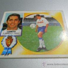 Cromos de Fútbol: CROMO FICHAJE 18 LORETO ZARAGOZA CROMOS ALBUM EDICIONES ESTE LIGA FUTBOL 1994 1995 94 95 . Lote 33352223