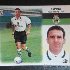 Cromos de Fútbol: ED. ESTE 1999 2000 99 00 - FICHAJE Nº 7 - ESPINA - SANTANDER - ULTIMOS FICHAJES - NUEVO, SIN PEGAR. Lote 33380886