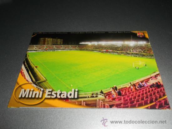1133 MINI ESTADI MATE BARCELONA B CROMOS MUNDICROMO FICHAS LIGA FUTBOL QUIZ GAME 2010 2011 10 11 (Coleccionismo Deportivo - Álbumes y Cromos de Deportes - Cromos de Fútbol)