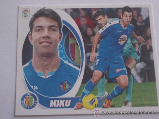 MIKU Nº 16 GETAFE C.F. - LIGA 2012-2013 12 13 - COLECCIONES ESTE PANINI (Coleccionismo Deportivo - Álbumes y Cromos de Deportes - Cromos de Fútbol)