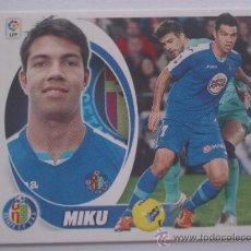 Cromos de Fútbol: MIKU Nº 16 GETAFE C.F. - LIGA 2012-2013 12 13 - COLECCIONES ESTE PANINI. Lote 43670628