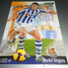 Cromos de Fútbol: FICHAJE UH + 1195 MARKEL BERGARA REAL SOCIEDAD CROMOS ALBUM MUNDICROMO LIGA FUTBOL 2008 2009 08 09. Lote 223249373