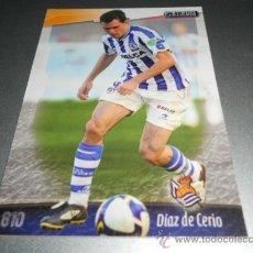 Cromos de Fútbol: 810 DIAZ DE CERIO REAL SOCIEDAD CROMOS ALBUM MUNDICROMO LIGA FUTBOL 2008 2009 08 09. Lote 144790613