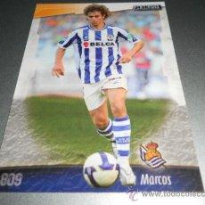 Cromos de Fútbol: 809 MARCOS REAL SOCIEDAD CROMOS ALBUM MUNDICROMO LIGA FUTBOL 2008 2009 08 09. Lote 57714777