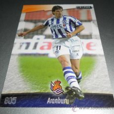 Cromos de Fútbol: 805 ARANBURU REAL SOCIEDAD CROMOS ALBUM MUNDICROMO LIGA FUTBOL 2008 2009 08 09. Lote 204532002