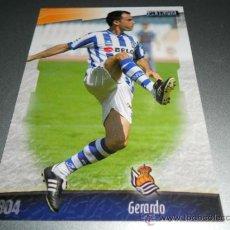 Cromos de Fútbol: 804 GERARDO REAL SOCIEDAD CROMOS ALBUM MUNDICROMO LIGA FUTBOL 2008 2009 08 09. Lote 224791715