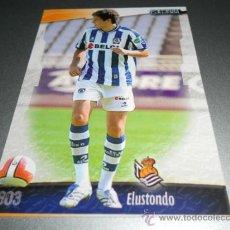 Cromos de Fútbol: 803 ELUSTONDO REAL SOCIEDAD CROMOS MUNDICROMO LIGA FUTBOL 2008 2009 08 09. Lote 204532108
