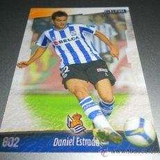 Cromos de Fútbol: 802 DANIEL DANI ESTRADA REAL SOCIEDAD CROMOS MUNDICROMO LIGA FUTBOL 2008 2009 08 09. Lote 204525810