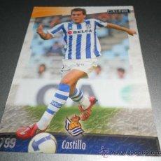 Cromos de Fútbol: 799 CASTILLO REAL SOCIEDAD CROMOS ALBUM MUNDICROMO LIGA FUTBOL 2008 2009 08 09. Lote 144790701