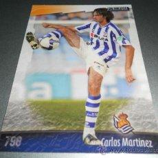 Cromos de Fútbol: 798 CARLOS MARTINEZ REAL SOCIEDAD CROMOS ALBUM MUNDICROMO LIGA FUTBOL 2008 2009 08 09. Lote 57714748