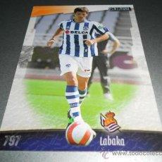 Cromos de Fútbol: 797 LABAKA REAL SOCIEDAD CROMOS ALBUM MUNDICROMO LIGA FUTBOL 2008 2009 08 09. Lote 57714753