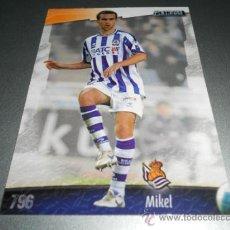 Cromos de Fútbol: 796 MIKEL GONZALEZ REAL SOCIEDAD CROMOS ALBUM MUNDICROMO LIGA FUTBOL 2008 2009 08 09. Lote 173586169