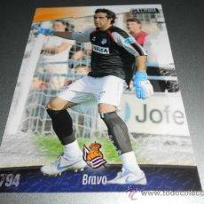 Cromos de Fútbol: 794 CLAUDIO BRAVO REAL SOCIEDAD CROMOS ALBUM MUNDICROMO LIGA FUTBOL 2008 2009 08 09. Lote 204532345