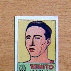Cromos de Fútbol: FÚTBOL CLUB BARCELONA - BENITO - CROMOS CULTURA - EDITORIAL BRUGUERA 1941-42. Lote 33938229