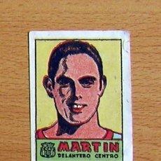 Cromos de Fútbol: FÚTBOL CLUB BARCELONA - MARTIN - CROMOS CULTURA - EDITORIAL BRUGUERA 1941-42. Lote 33938399