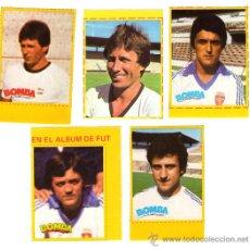 Cromos de Fútbol: CROMOS REAL ZARAGOZA LIGA 79-80 BOMBA/REVISTA PRONTO. Lote 33945257