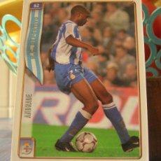 Cromos de Fútbol: MUNDICROMO FICHAS DE LA LIGA 2004-2005 04 05 Nº 62 ANDRADE (DEPORTIVO). Lote 33954769