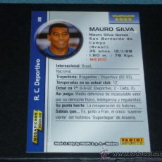 Cromos de Fútbol: MEGAFICHAS 2003/2004 – 118 MAURO SILVA - R.C. DEPORTIVO - 03/04 ( ) . Lote 131248876