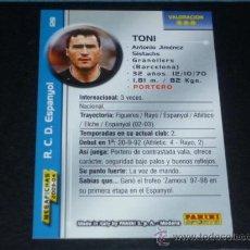 Cromos de Fútbol: MEGAFICHAS 2003/2004 – 128 TONI - RCD. ESPANYOL - 03/04 ( ). Lote 126082642