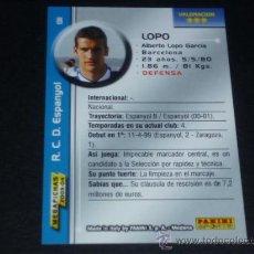 Cromos de Fútbol: MEGAFICHAS 2003/2004 – 131 LOPO - RCD. ESPANYOL - 03/04 ( ) . Lote 33972631