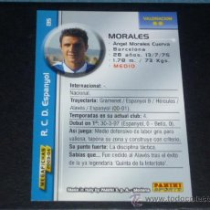 Cromos de Fútbol: MEGAFICHAS 2003/2004 – 135 MORALES - RCD. ESPANYOL - 03/04 ( ) . Lote 46364751