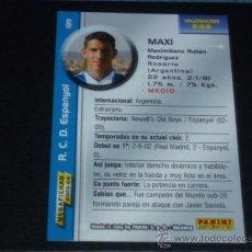 Cromos de Fútbol: MEGAFICHAS 2003/2004 – 139 MAXI - RCD. ESPANYOL - 03/04 ( ) . Lote 33972946