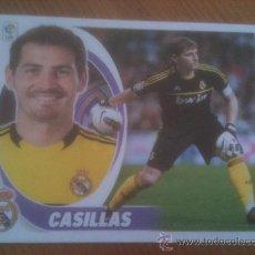 Cromos de Futebol: LIGA 2012-13 CASILLAS REAL MADRID - NUMERO 1. Lote 33961653