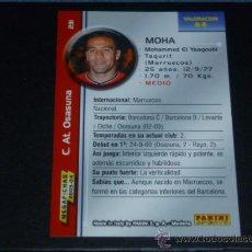 Cromos de Fútbol: MEGAFICHAS 2003/2004 – 231 MOHA - AT. OSASUNA - 03/04 ( ) . Lote 34026665
