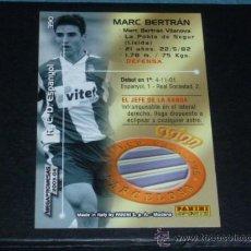 Cromos de Fútbol: MEGAFICHAS 2003/2004 – 390 MARC BERTRÁN ( MEGAPROMESAS ) - RCD. ESPANYOL - 03/04 ( ). Lote 177718282