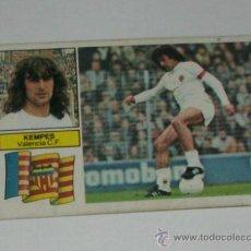 Cromos de Fútbol: -ESTE 82-83 : FICHAJE - 10 - KEMPES ( VALENCIA ). Lote 34042927