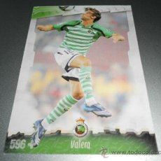 Cromos de Fútbol: FICHAJE UH + 596 VALERA RACING SANTANDER CROMOS MUNDICROMO LIGA FUTBOL 2008 2009 08 09. Lote 40337186
