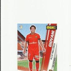 Cromos de Fútbol: 501 GIOVANI (MALLORCA) FICHAJE - MEGACRACKS 2012-2013 PANINI MGK 12-13 - CROMOS . Lote 37735086