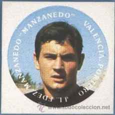 Cromos de Fútbol: J.L.FERNANDEZ MANZANEDO - MANZANEDO - VALENCIA - ORTIZ. Lote 38069658