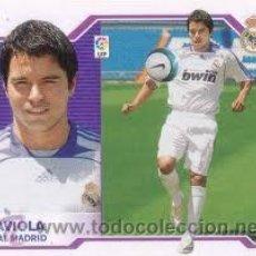 Cromos de Fútbol: EDICIONES ESTE 07-08 2007 2008 SAVIOLA REAL MADRID U F 9 NUNCA PEGADO. Lote 41798377
