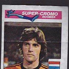 Cromos de Fútbol: CROMOS FUTBOL CHICLE SUPER BOOMER 1981 RUUD KROL. Lote 288438518