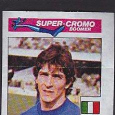 Cromos de Fútbol: CROMOS FUTBOL CHICLE SUPER BOOMER 1981 PAOLO ROSSI. Lote 288438473