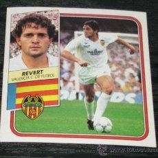Cromos de Fútbol: -ESTE 89-90 : REVERT ( VALENCIA ) -- BAJA --. Lote 34249869