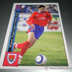 Cromos de Fútbol: 700 MIGUEL NUMANCIA CROMOS ALBUM MUNDICROMO PLATINUM LIGA FUTBOL 05 06 2005 2006. Lote 207345301