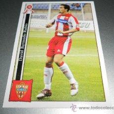 Cromos de Fútbol: 904 BERMUDO ALMERIA CROMOS ALBUM MUNDICROMO PLATINUM LIGA FUTBOL 05 06 2005 2006. Lote 87675639