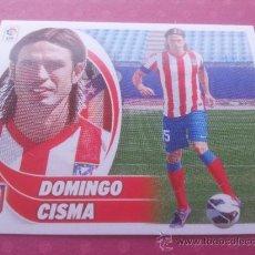 Cromos de Fútbol: UF 53 - DOMINGO CISMA (ATLETICO MADRID) CROMO ULTIMO FICHAJE ESTE LIGA 2012-2013 PANINI 12/13 -. Lote 183327922