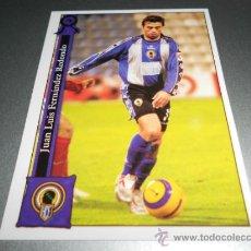 Cromos de Fútbol: 1014 REDONDO HERCULES CROMOS ALBUM MUNDICROMO PLATINUM LIGA FUTBOL 05 06 2005 2006. Lote 72335001