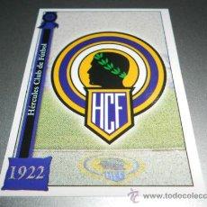Cromos de Fútbol: 589 ESCUDO MATE HERCULES CROMOS ALBUM MUNDICROMO PLATINUM LIGA FUTBOL 05 06 2005 2006 . Lote 34502795