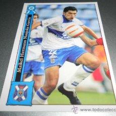 Cromos de Fútbol: 846 MAIKEL TENERIFE CROMOS ALBUM MUNDICROMO PLATINUM LIGA FUTBOL 05 06 2005 2006. Lote 111916315