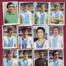 Cromos de Fútbol: RUIROMER - CAMPEONATO NACIONAL DE FUTBOL 1976-1977 - LOTE DE 13 CROMOS ESPAÑOL. Lote 34657131