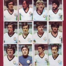 Cromos de Fútbol: RUIROMER - CAMPEONATO NACIONAL DE FUTBOL 1976-1977 - LOTE DE 12 CROMOS SALAMANCA. Lote 34657182