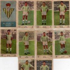 Cromos de Fútbol: 7 CROMOS DEL BETIS, DE EDICIONES FERCA 1959-60. Lote 34700167