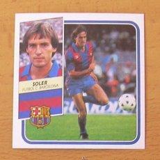 Cromos de Fútbol: FÚTBOL CLUB BARCELONA - SOLER - EDICIONES ESTE 1989-1990, 89-90 - NUNCA PEGADO. Lote 52642318