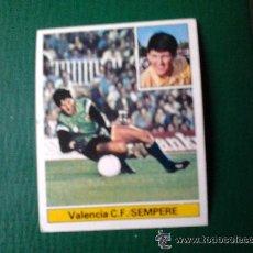 Cromos de Fútbol: ESTE 81-82 SEMPERE VALENCIA NUNCA PEGADO. Lote 18555633